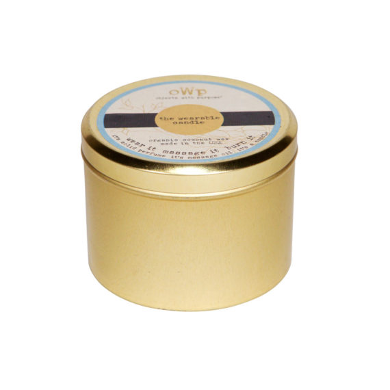 Vegan Coconut Butter Candle in 6-oz Grande Tin