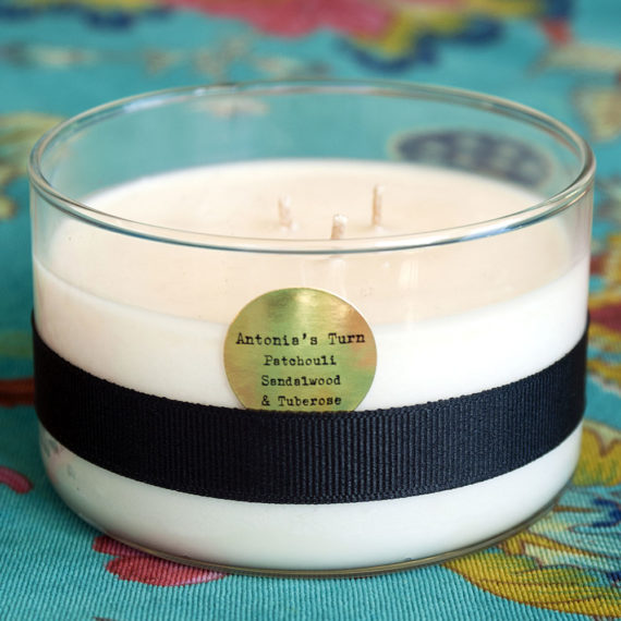 Patchouli, Sandalwood & Tuberose Organic Coconut Butter Candle