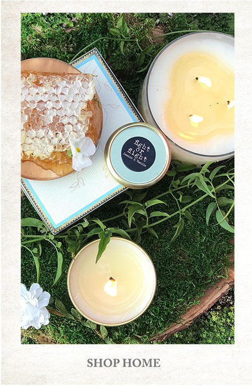 Jasmine & Vanilla Candle - Shop Home
