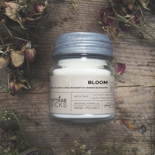 Bloom Crystal Candle