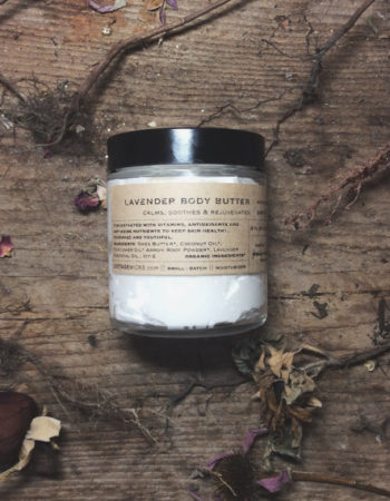 Organic Lavender Body Butter