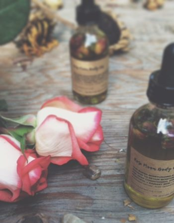 Rose Moon Body Oil